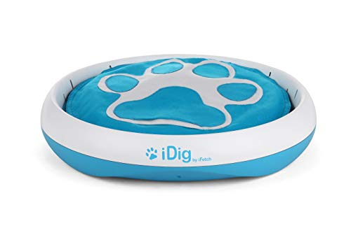 iFetch Q-100 Idig Digging Toy, One Size, Blue/White