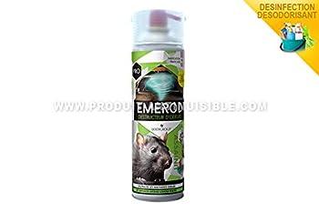 LODI Destructeur d'odeurs Emerod de rongeurs 500ml - Formulation Professionnelle -