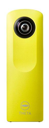 Ricoh Theta M15 Digitalkamera (WLAN, 4GB interner Speicher, USB 2.0) gelb