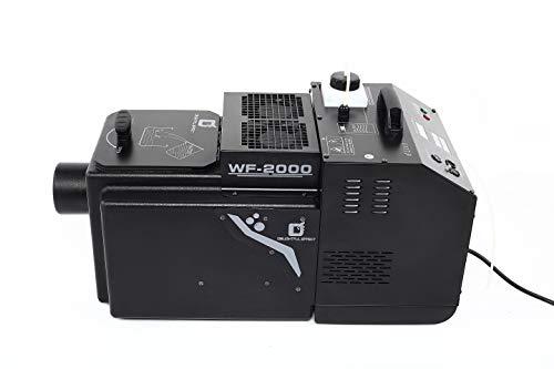 Rauch DJ Professional Low Lying ground cover WF-2000 Low Lying Fog machine, adjust heavy or light Mode