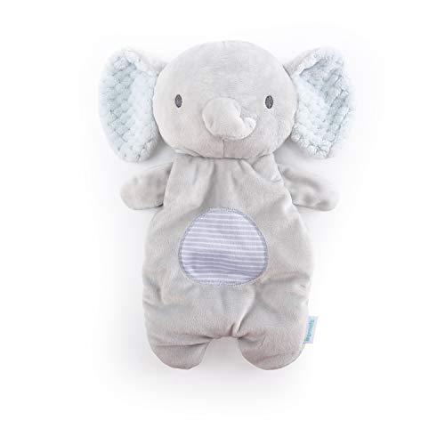 Ingenuity Premium Soft Plush Soothing Bean Bag Lovey - Van The Elephant, Ages Newborn +