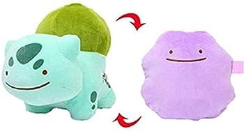 NC199 Pokemon Plush Ditto Transform Stuffed Soft Doll Kid- 13cm Bulbasaur Decoración del hogar