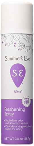 Summer's Eve Ultra Freshening Feminine Deodorant Spray 2-Ounces (2-Units)