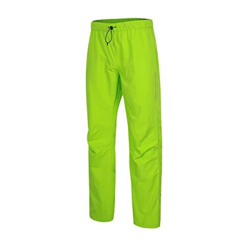 Pantalones protectores para bicicleta de montaña, pantalones de ciclismo impermeables para hombre - PFC Free Neon Green