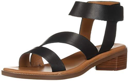 Price comparison product image Franco Sarto Women's Landry Sandal,  Black,  8.5 M US