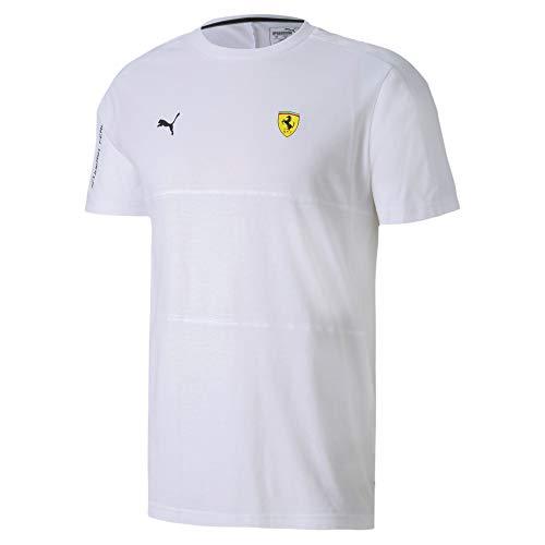 PUMA Ferrari T7 T-Shirt (L, White)