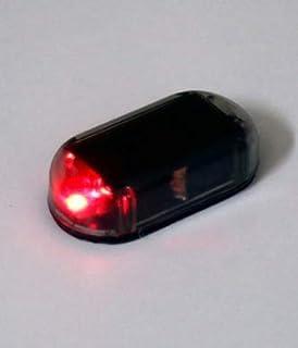 ideal como sistema de seguridad del coche la luz LED intermitente funciona con energ/ía solar Simulador de alarma antirrobos YYGIFT/® 2/unidades
