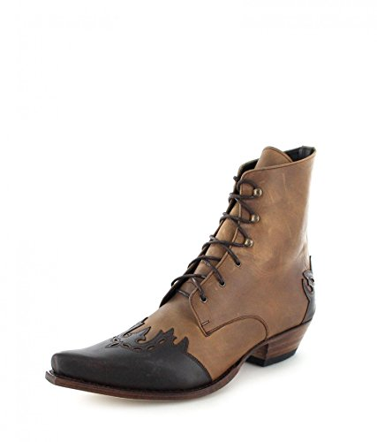 Sendra Boots dames laarzen 11699 zwart rood Western laarzen