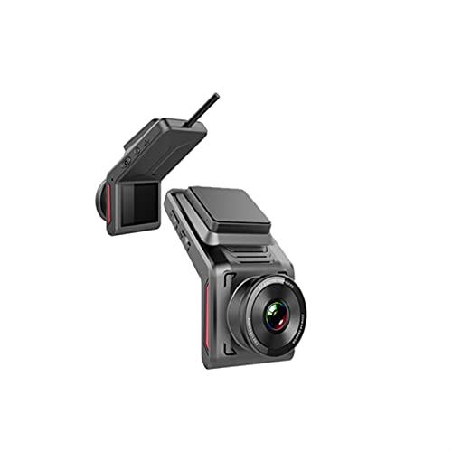 Gcsheng Coche de 2 Pulgadas DVR 4G WiFi Dash CAM GP/S FHD 1080P Cámara de Dash de Auto 1080P Grabadora de Video con cámara de visión Trasera Cámara de visión Nocturna