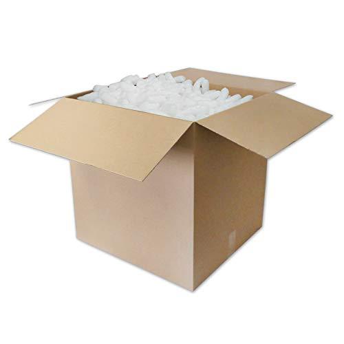 400 l Liter Verpackungschips / Polsterchips / Füllmaterial Sack - versandkostenfrei deutschlandweit - BIO Produkt von versando® MADE IN GERMANY - Grundpreis nur 0,064 € pro Liter thumbnail