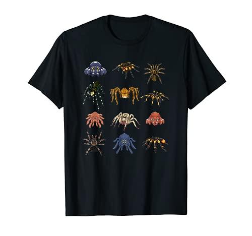 Arachnide Spinnentier Halloween Geschenk Spinne T-Shirt