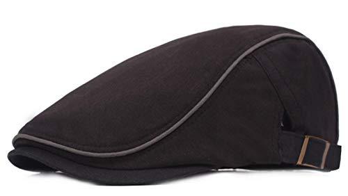 KeepSa - Gorra plana de algodón para hombre, de estilo vintage, gorra irlandesa, boina, estilo Gatsby