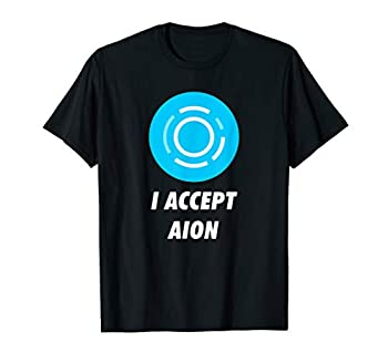 I Accept Aion Cryptocurrency T-Shirt