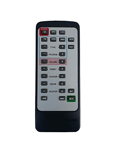 BhalTech 2.1/5.1 System Remote Control Compatible with MITSUN WOOFER Home Theater