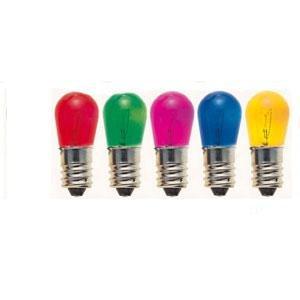 Lampadina di ricambio per luci di natale. Colorate, set da 50 lampadine