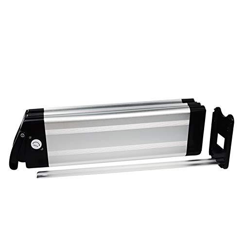 Wallen Power Ebike Batteria 36V 12.5AH Batteria agli ioni di Litio per 500W 350W 250W Scarica e-Bike Biciclette elettriche (scarica Verso Il Basso) Caricabatterie e Blocco di Sicurezza (36V12.5AH)