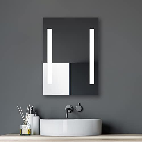 Espejo de baño talos Horizon led, 50 x 70 cm