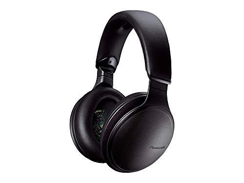 Panasonic RP-HD605NE-K - Cuffie Bluetooth wireless ad alta risoluzione, con microfono e controllo vocale, colore: Nero
