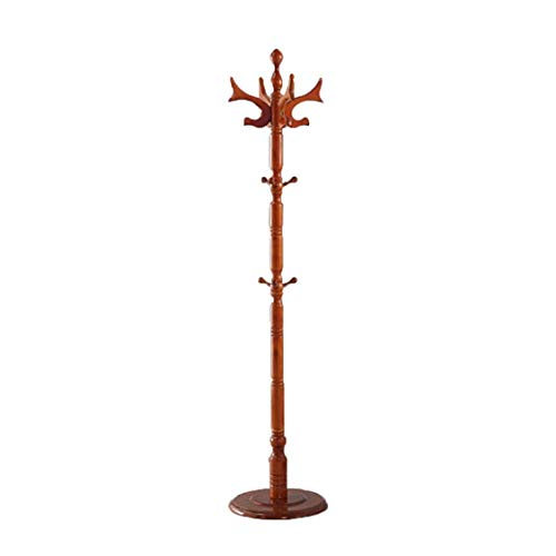 Kapstok Stand kapstok kledingrek kapstok Tree Houder Wood Hooks Slaapkamer Kantoor Gang Garage Vrijstaande Birch Ontwerp van rendieren 183times; 40cm (Kleur: A) LQH (Color : A)
