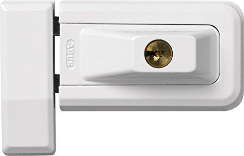 ABUS Fenster-Zusatzsicherung 3030 AL0125 - Schwenkbares Sicherheitsschloss für Fenster und Türen, gleichschließend - ABUS-Sicherheitslevel 6 - 31765 - Weiß