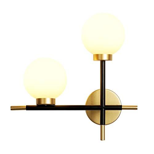 Binnenwandlamp, Nordic wandlamp, magische bonen, molecular, modern, eenvoudig, lampenkap van melkglas, veranda, hal, sofa, wandlamp achtergrond