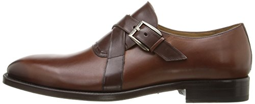 Mezlan Men's Badia Slip-On Loafer, Cognac/Brown, 11 UK/11 M US