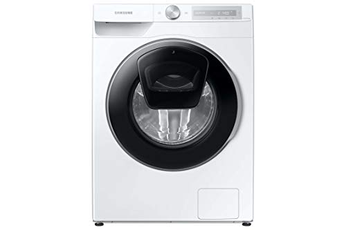 Samsung WW81T684AHH/S2 Waschmaschine , 8 kg , 1400 U/min , Weiß , SchaumAktiv , AddWash , Automatische Waschmittel- und Weichspülerdosierung