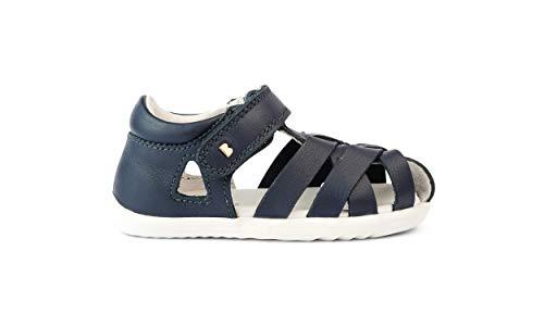 Bobux Step Up Tropicana II Sandals - Primeros Pasos - Sandalias de Bebés Bobux de piel (Navy, 22)