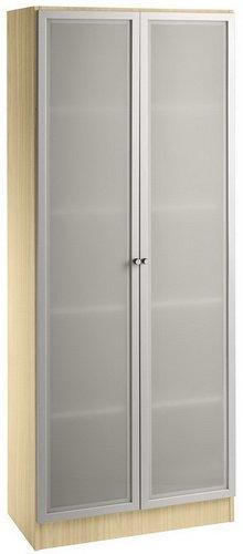 Glazen deurscharnier SIGNA 6100G 5 OH esdoorn/zilver