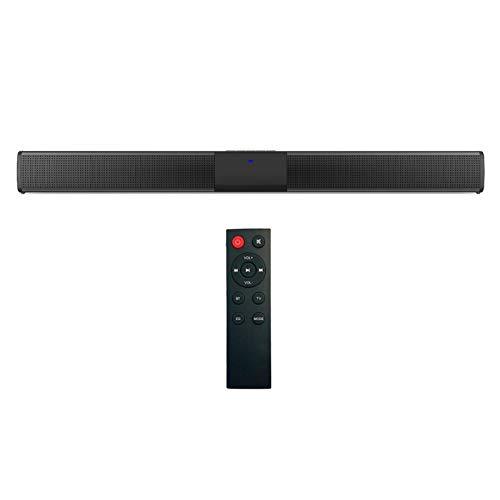 KESOTO Sistema de Cine en Casa Portátil Barra de Sonido Altavoz Bluetooth Sonido Estéreo