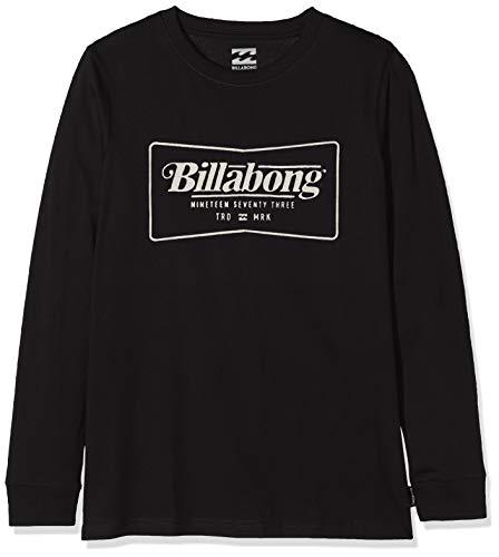 BILLABONG TRD Mrk LS tee Boy Camiseta, Negro (Black 19), One Size (Tamaño del Fabricante: 16) para Niños