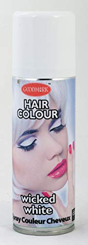 GOODMARK-Hair Bomb White, SPRAY LAQUE CHEVEUX 125ML BLANC, 125 ml