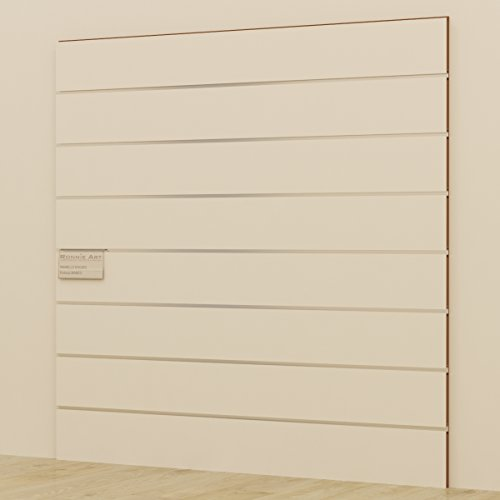 Pannello dogato Cabina armadio guardaroba arredamento negozi BIANCO