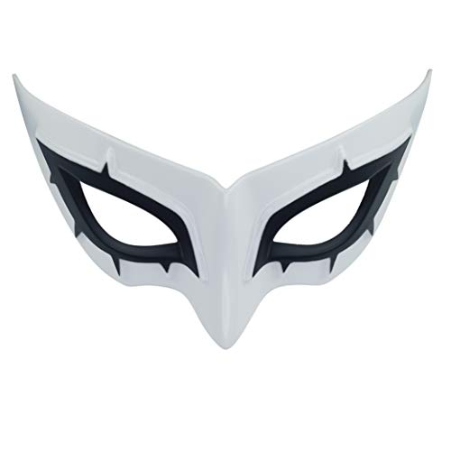 Persona Series Mask, Joker/Fox/Skull/Queen/Panther Resin Mask For Halloween Costume Accessory (A)