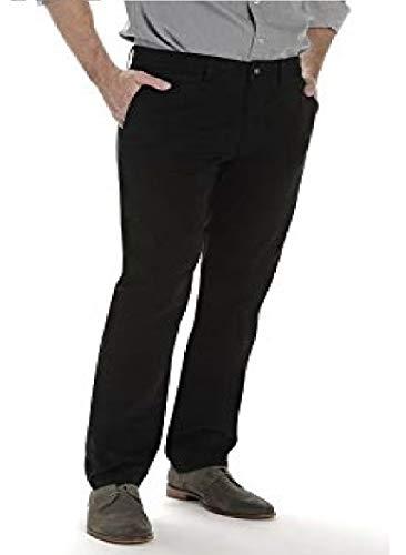 LEE Men's Super Soft Slim-fit Chino Pant, Black, 33W x 29L