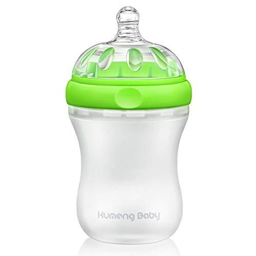 Bright love sans BPA bébé spécial col Large Petite Bouteille 230ml,Green
