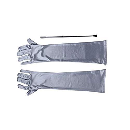 Utopiat - Soporte para cigarrillos largo y extensible y conjunto de guantes...