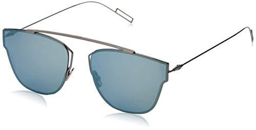 Dior DIOR0204S 3J KJ1 Gafas de sol, Gris (Dark Ruthenium/Azure Grey Speckled), 57 para Hombre
