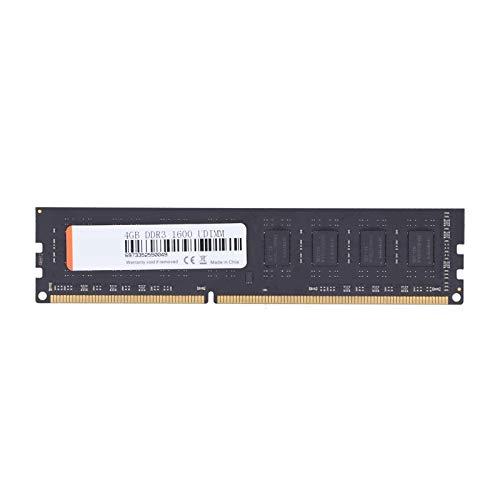 Sojare RAM DDR3 RAM da 8 GB, modulo di Memoria Nero per Desktop Intel AMD DDR3 PC3‑12800 1,5 V 240 Pin 1600 MHz, modulo di Memoria DDR3 per Intel AMD, RAM DDR3 per Giochi Lavoro(1)