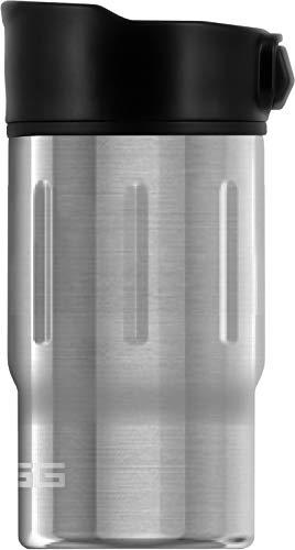 SIGG Gemstone Mug Selenite Thermobecher (0.27 L), schadstofffreier und isolierter Kaffeebecher, auslaufsicherer Coffee to go Becher aus Edelstahl