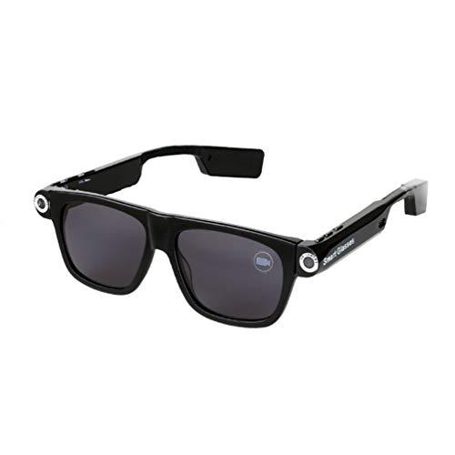 GTJXEY Smart-Brille, Kamera Brille 1080P Video Brille Wearable Kamera Brillen Plate + Spiegel-PC Für Office/Outdoor/Ausbildung/Lehre/Kinder/Haustiere,A