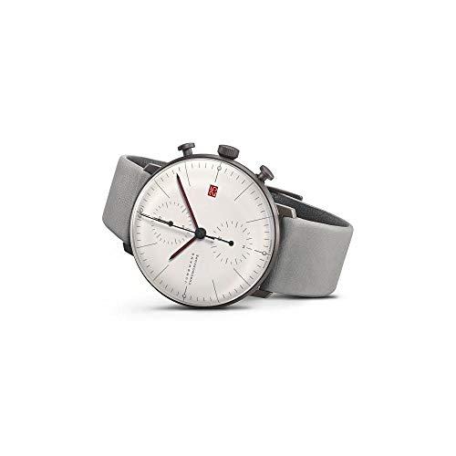Junghans max Bill Chronoscope Armbanduhr Edition Bauhaus 2019 027/4902.02