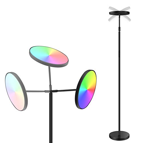 Lámparas de Pie Led Modernas Marca ANTING