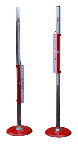 Polanik Multi-Bracketed Training High Jump Stands STW18-04 with Safety Bars - Pair