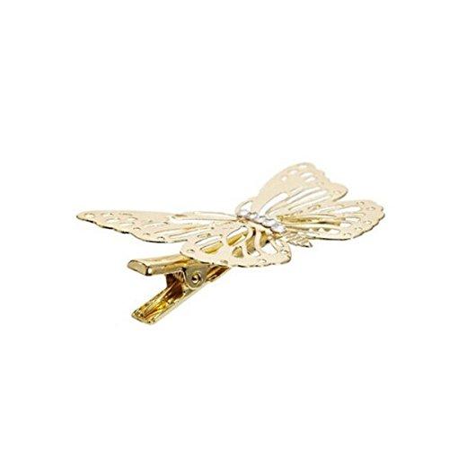 4pcs mariposa pinza de pelo pernos de pelo accesorios para el cabello casco...