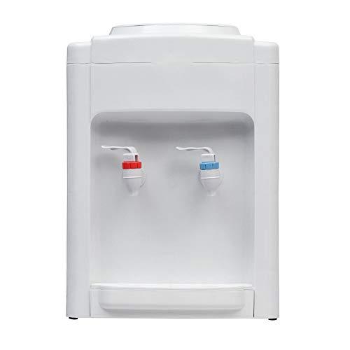 LORIEL Dispensador Calentador de Agua Helado frío y Caliente frío refrigerante, dispensador de Agua de Carga Superior, para el café de la Oficina en casa