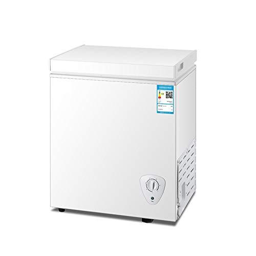 NoNo Kühlschrank Mini Haushalt Gewerbliche Gefriertruhe Energiesparend stumm Einzeltemperatur Kühlschrank Top Tür Weiß 88 Liter