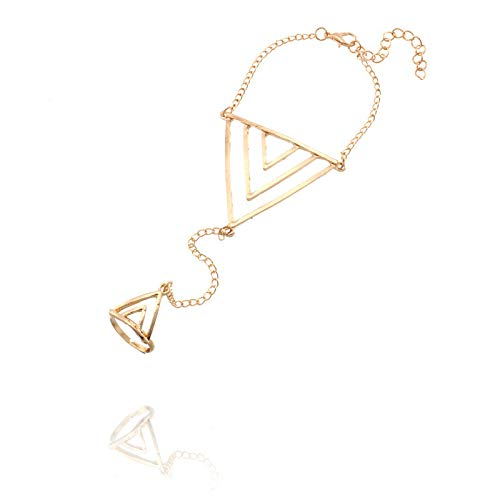 Nobrand Bohemian Geometric Charm Armbänder Für Frauen Dreieck Armbänder \U0026 Armreifen Frauen Armbänder Für Frauen Hohlschmuck