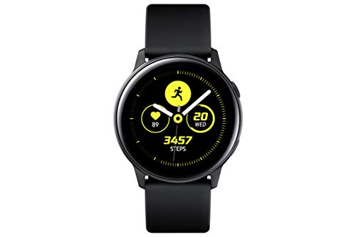 Samsung Galaxy Watch Active (40MM, GPS, Bluetooth ) Smart Watch with Fitness Tracking, and Sleep Analysis - Black  (US Version)