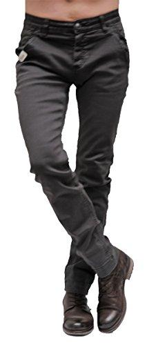 Blue Monkey Jeans, Herren-Hose, Pattern Grey, Justin BM-4414 (W29/L32)